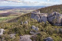 """Castle Rock Granite Skywalk"", Porongurups, Mt Barker, WA. DJI_0792"