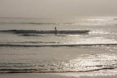 Sunrise Surfers on a foggy day at Ocean Beach, Denmark, WA. DSC_1008