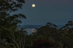 Moonrise over Wilson Inlet, Denmark, WA. DSC_7812